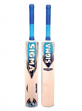 Sigma Signature Short Handle Full Size English Willow Cricket Bat