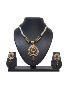 Unique Multi Color Designer Necklace Set