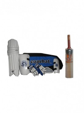 Combat Match Complete Cricket Kit With Cricket Bat Size-4