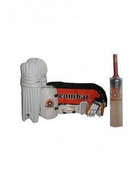 Combat Match Complete Cricket Kit With Cricket Bat Size-6