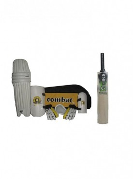 Combat Complete Cricket Kit With Willow Cricket Bat-Full Size
