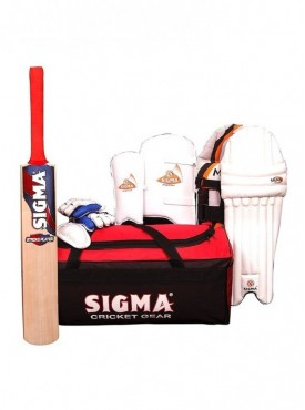 Sigma Match Size Men Complete Cricket kit