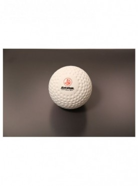 Rakshak Dimple Gold Hockey Turf Ball-White (Pack of 6 Balls)