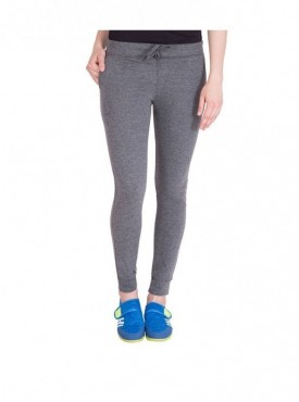 American-Elm Basic Solid Women Dark Grey Track Pant