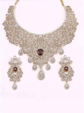 Magnificient Silver Color Jewellery