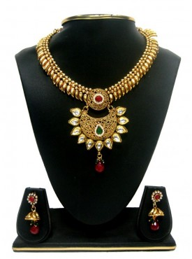 Flamboyant Gold Color jewellery