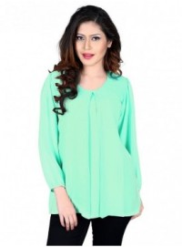 Cutemad Green Exclusive Printed Top