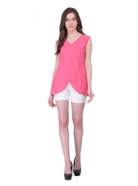 Cutemad Pink Plain Top