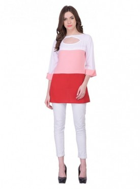 Cutemad Pinik - Red Plain Top