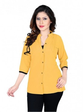 Cutemad Yellow Exclusive Plain Top