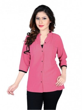 Cutemad Pink Exclusive Plain Top