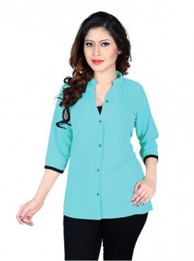 Cutemad Blue Exclusive Plain Top