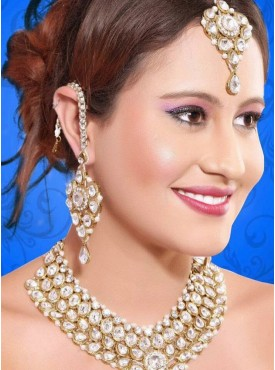 Gleaming Gold Color Jewelry