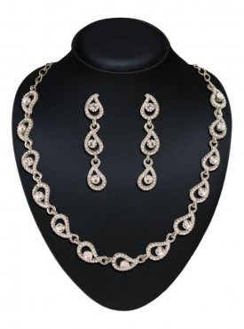 Amazing Silver Color Fashion Jewellery Necklaces