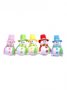 Led Snow Man Christmas Decoration 1 Pc Pack