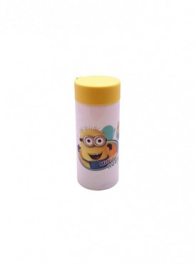 Minions White Unbreabable Water Bottle