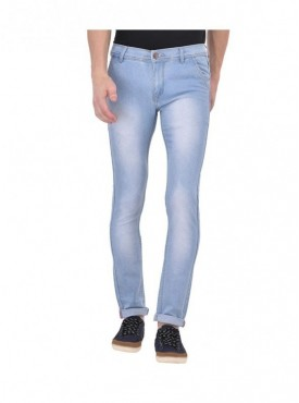 Ansh Fashion Wear Men Blue Strechable Denim Jeans