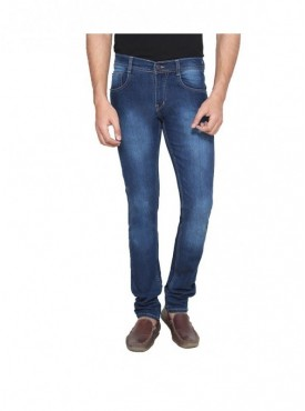 Ansh Fashion Wear Men Cotton Lycra Strechable Denim