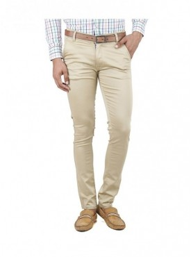 Ansh Fashion Wear Men Stechable Regular Wear Chinos