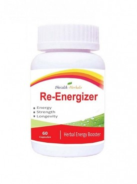 Re-Energizer 60 Capsules Energy Booster , Herbal Tonic