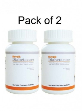 Diabetacure 120 Capsules Diabetes Treatment, Diabetes Medicine