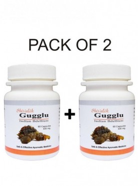Gugglu- Commiphora mukul 120 Capsules Special for  Female Reproductive System