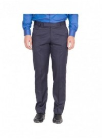 American-Elm Men Nevy Colour Formal Trouser