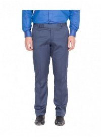 American-Elm Men Blue Colour Formal Trouser