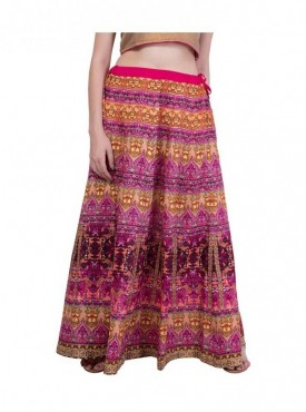 American-Elm Women Multicoloured Skirt