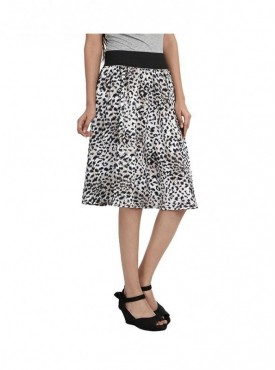 American-Elm Women Regular Fit Printed Skirt