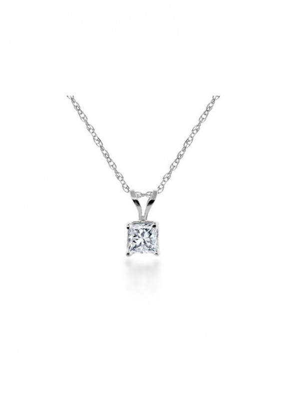 Solitaire Diamond Pendant(Without Chain)