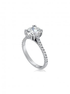 Exclusive Solitaire Ring