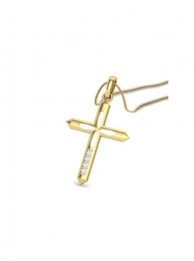 Cross Pendant(Without Chain)