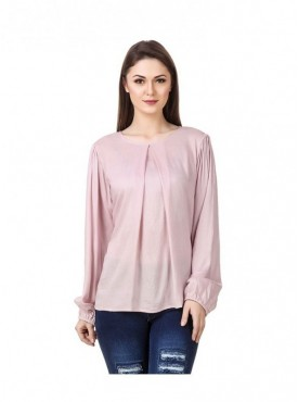 American-Elm Pink Coloured Women Tunic