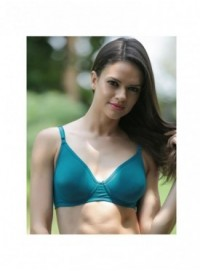 Liberti World Turquoise Blue Lightly Underwired Moulded Bra