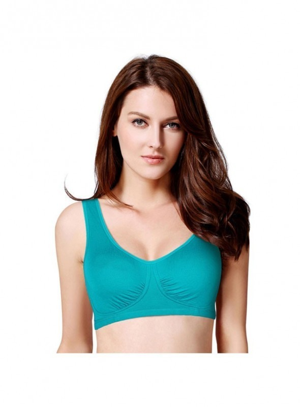 77df36d1e8 Laavian Turkish Green Ultimate Sports Bra