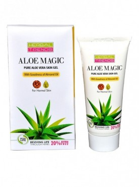 Pure Aloe Vera Skin Gel with Almond Oil