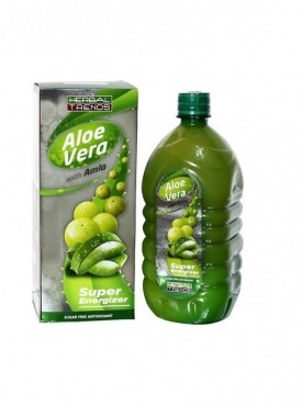 Herbal Trends- AloeVera With Amla- Pure 1Ltr.