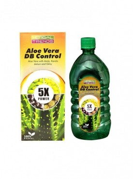 Herbal Trends- Aloe Vera Diabetes Control 5x -Pure 1Ltr