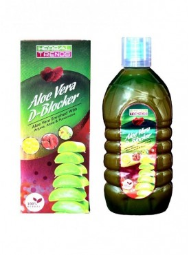 Herbal Trends- Aloe vera D Blocker Heart Care - Pure 1Ltr