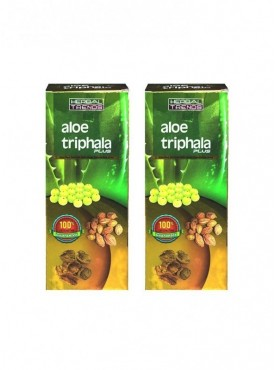 Herbal Trends- Aloe Triphala Plus Pure 1Ltr. Pack Of 2