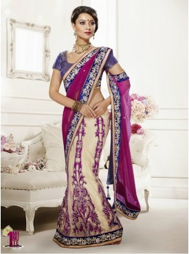 Mahotsav Tusher Rani Color Lehenga Saree