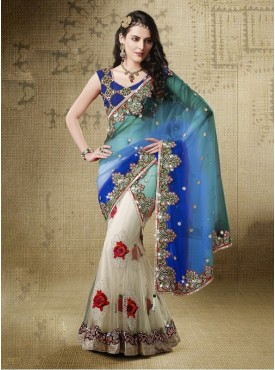 Mahotsav Color Lehenga Saree