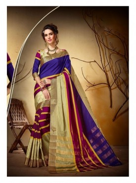 Nayonika Designer Heavy Silk Lime Green Color Jacquard Saree With Blouse
