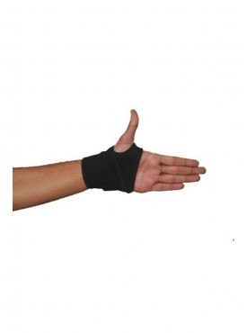 Vkare Wrist Binder with Thumb Support - Black - Neoprene