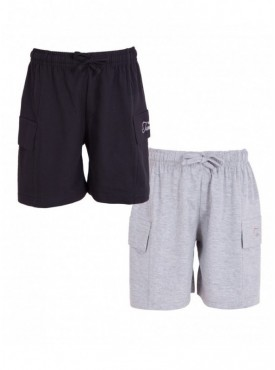 Utlrafti Junior Boys Pack of 2 Cotton Stylish Shorts