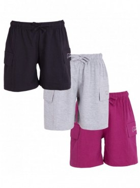 Utlrafti Junior Boys Pack of 3 Cotton Short