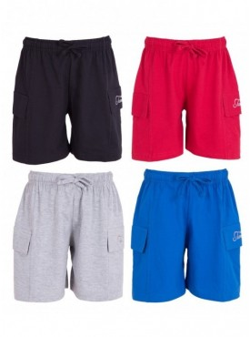 Utlrafti Junior Boys Pack of 4 Cotton Short-