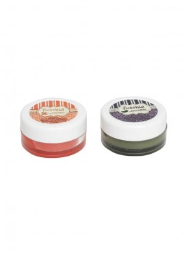 Fuschia - Peach & Black Currant Lip Balm Combo