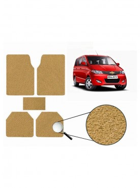 True Vision Car Anti Slip Noodle Floor / Foot Mats Set of 5 Beige For Chevrolet Enjoy